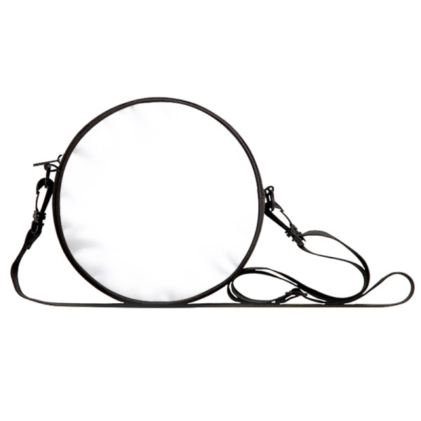 Round Satchel Bag