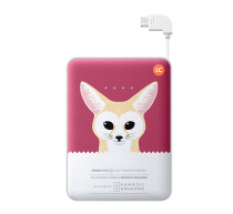 Powerbank 11 300 mAh Violet with Fox