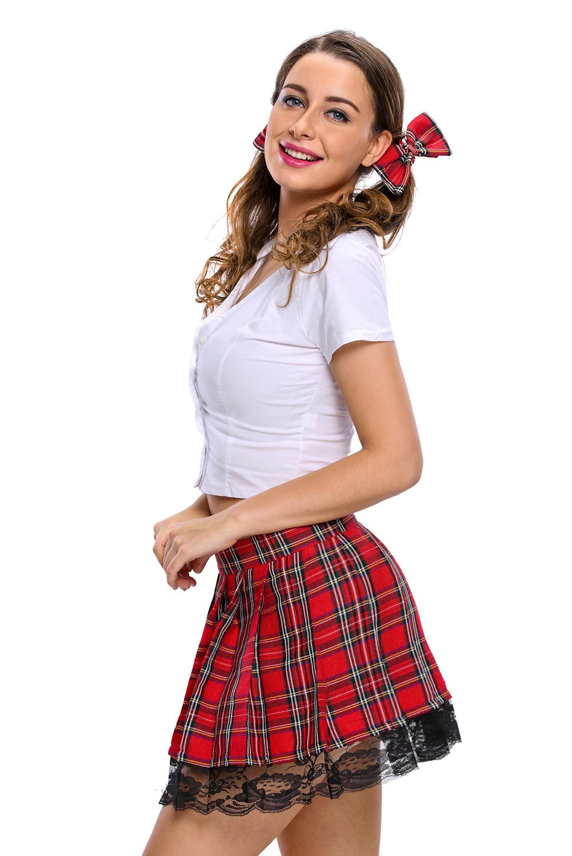 女学生服装表演服三件套 LC8644