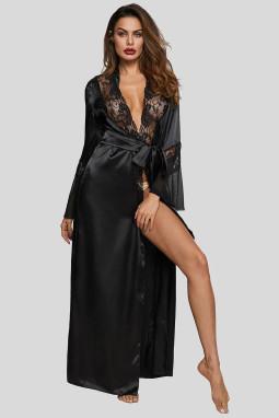 黑色魅力情人节长袍